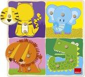 Goula jungle dieren puzzel