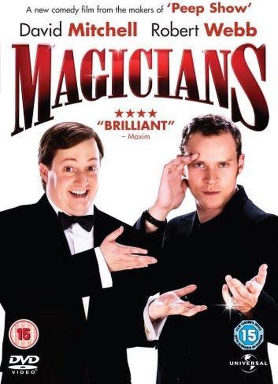 Cover van de film 'Magicians'