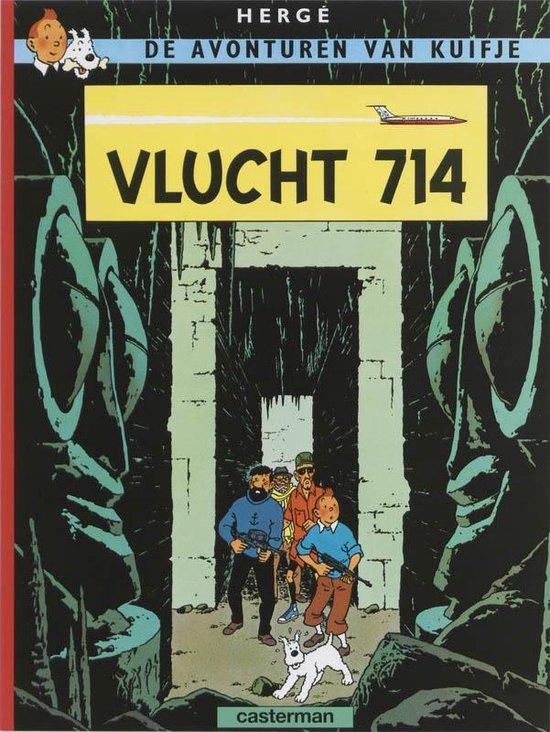 Kuifje 22. vlucht 714 - Hergé |