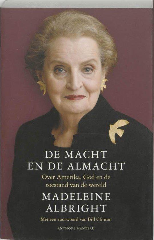 Cover van het boek 'De macht en de almacht' van Madeleine Albright