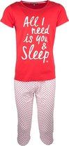 Dames Pyjama All I Need Is You & Sleep 36/38