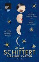 Boek cover Al wat schittert van Eleanor Catton