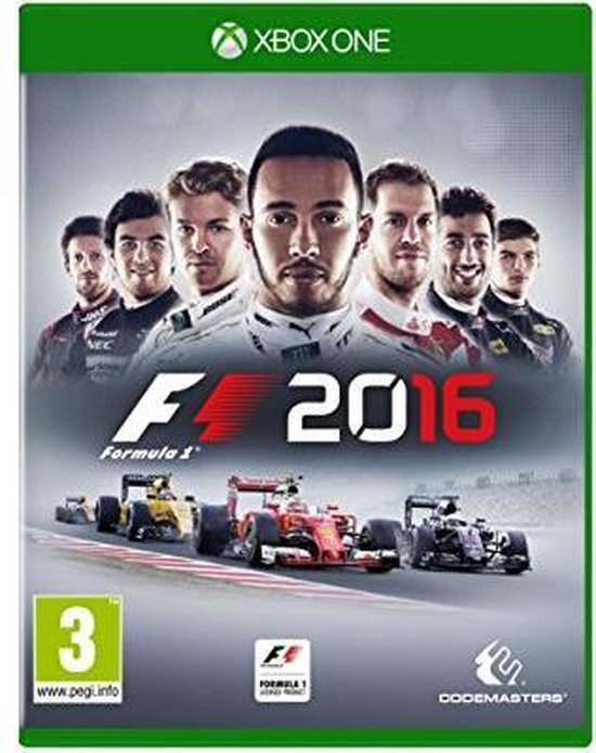 F1 2016 – Standard Edition – Xbox One (import)
