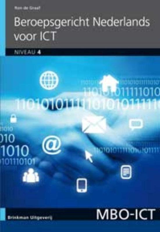 MBO-ICT - Beroepsgericht Nederlands voor ICT niveau 4 - Ron de Graaf |