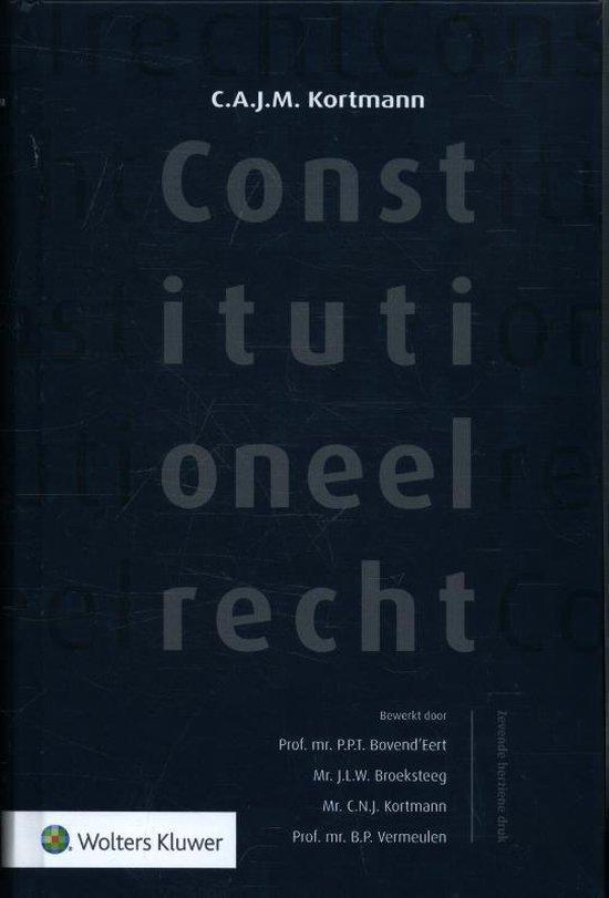 Afbeelding van Constitutioneel recht
