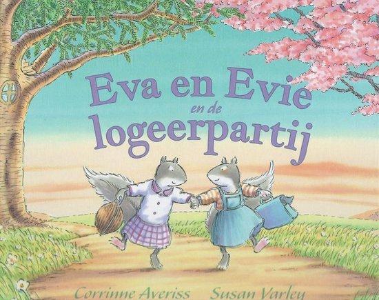 Boek cover Eva en Evie en de logeerpartij van Corrinne Averiss (Hardcover)