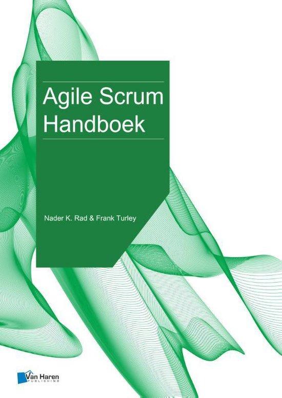 Boek cover Agile scrum handboek van Frank Turley (Paperback)