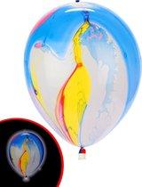 Illooms LED Ballonnen Marble - 5 Stuks