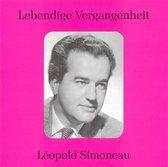 Lebendige Vergangenheit: Leopold Simoneau