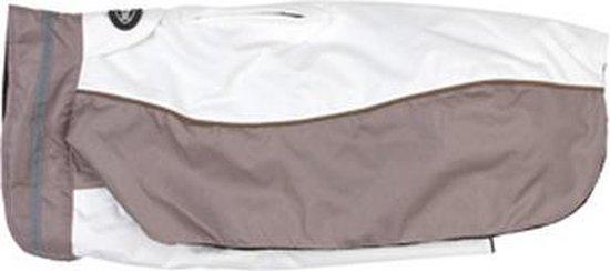 Buster Wintercoat White/Rose M  -  ruglengte 46 cm - honden 12-18 kg