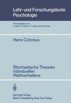 Stochastische Theorien Individuellen Wahlverhaltens