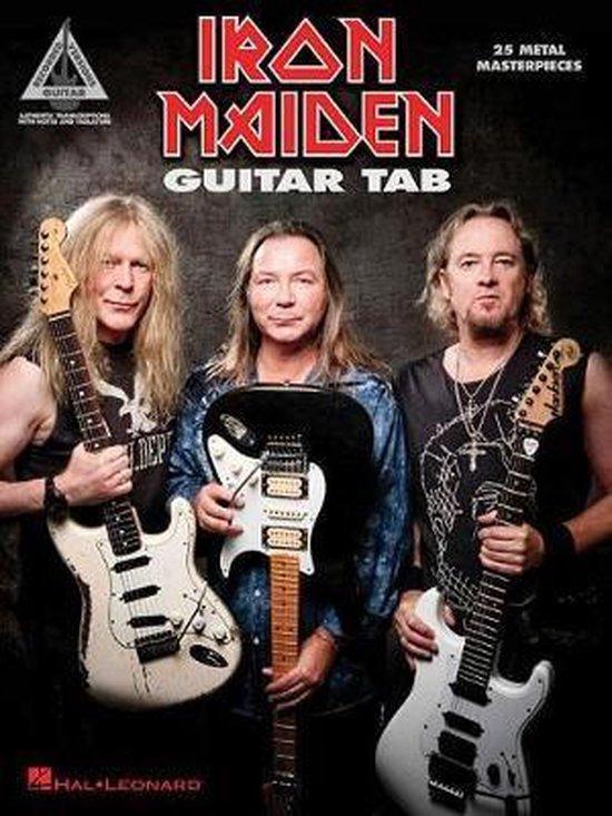 Boek cover Guitar Tab - 25 Metal Masterpieces van Iron Maiden (Hardcover)