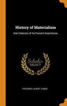 History of Materialism