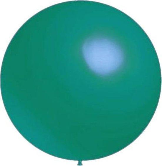 100 stuks - Decoratieballonnen turquoise 28 cm pastel professionele kwaliteit