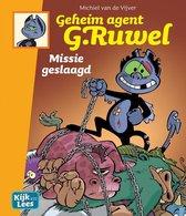 Boek cover Geheim agent g. ruwel hc03. missie geslaagd van Michiel van de Vijver (Hardcover)