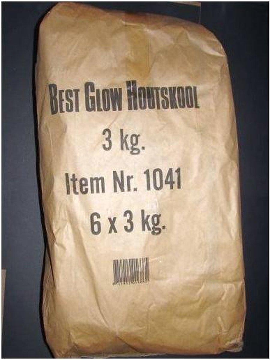 BestGlow houtskool zak 6x3kg