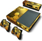 Xbox One Skins Stickers - Steel Gold (Let op, alleen geschikt voor Xbox One 1e versie - zie productafbeelding)
