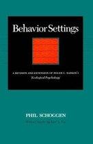 Behavior Settings