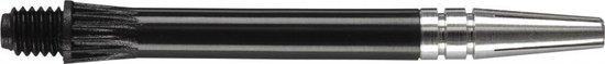 Harrows darts Gyro shaft spin top zwart short 3 stuks