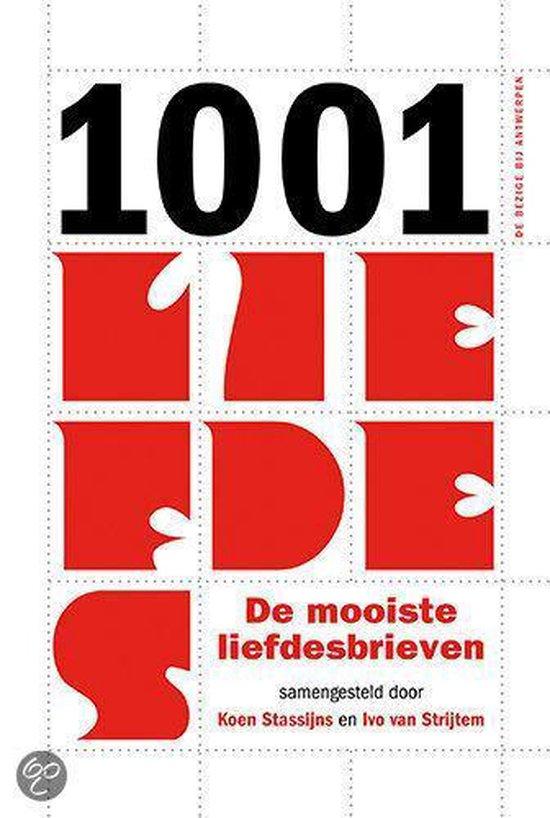 Cover van het boek '1001 liefdes' van Koen Stassijns