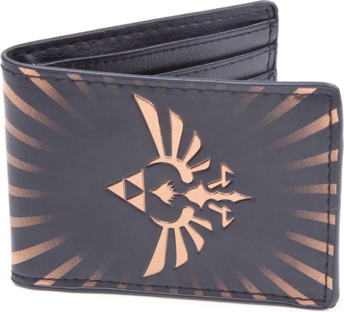 Nintendo - Zelda Bird Wallet (Zwart) - Difuzed