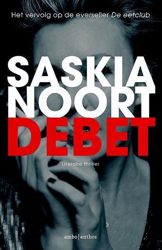 Boek cover Debet van Saskia Noort (Onbekend)