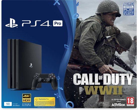 COD WWII/PS4 1Tb Pro black