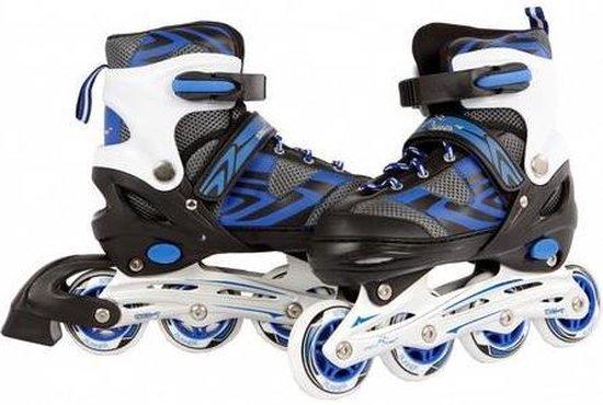Skates Blauw 31-34 - Skates Jongens Verstelbaar