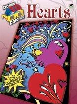 3-D Coloring Book - Hearts
