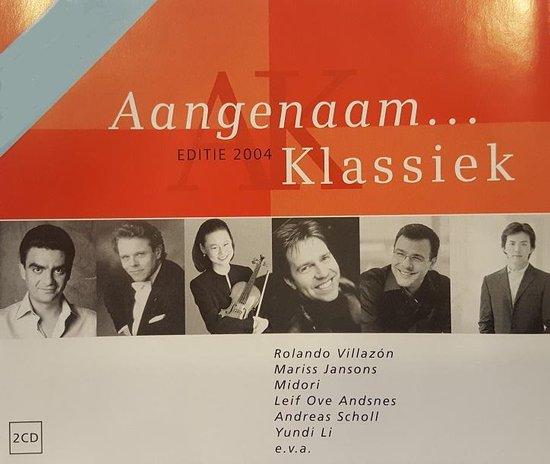 CD cover van Aangenaam Klassiek 2004 van Various