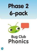 Bug Club Phonics Phase 2 6-pack (144 books)
