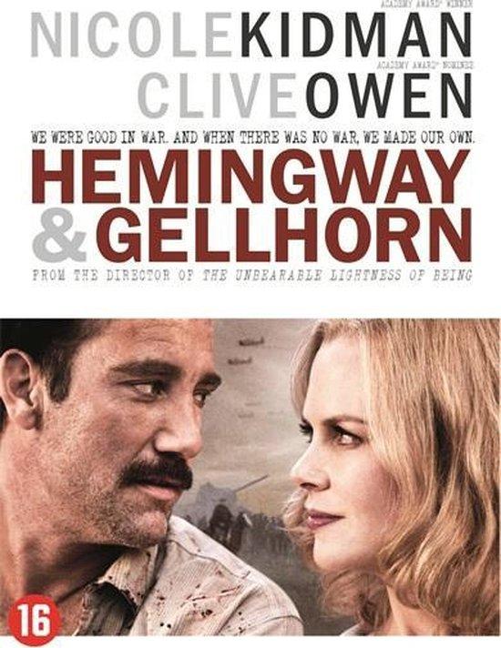 Cover van de film 'Hemingway & Gellhorn'