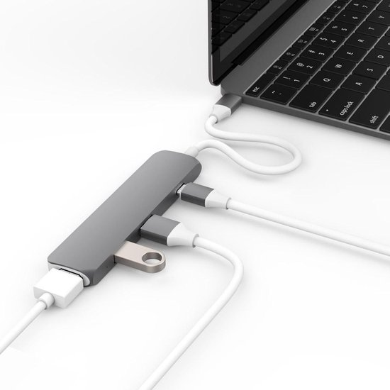 Hyper USB-C adapter kit with HDMI space grey USB 3.1 - Hyper