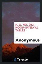 H. O. No. 202