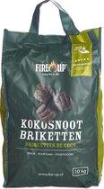Fire-Up Professional Kokosnoot Briketten (10 kg)