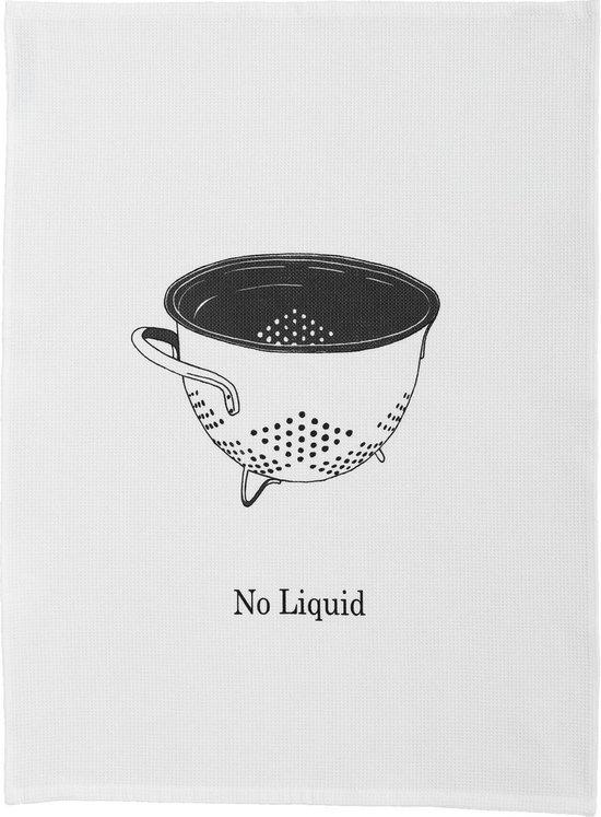 DDDDD Theedoek No Liquid White (6 stuks)