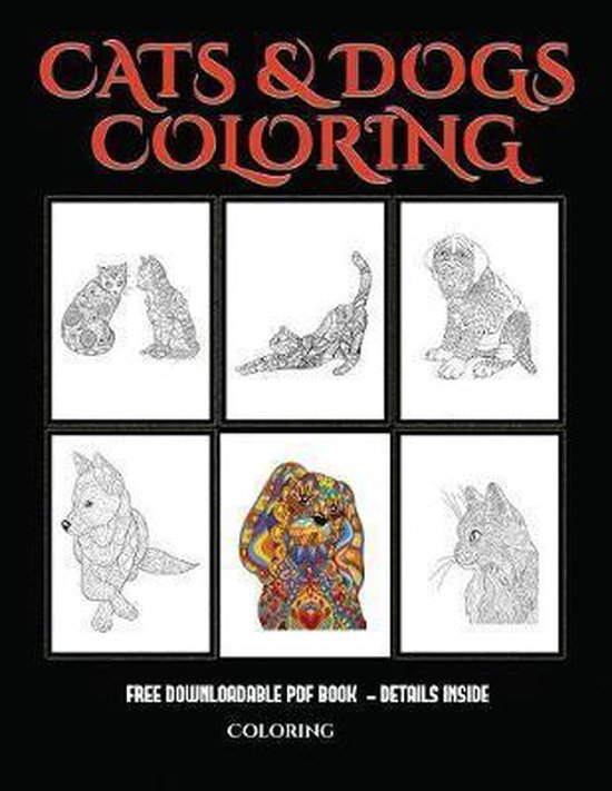 Coloring (Cats and Dogs)