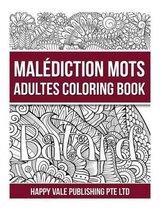 Malas Palabras Adulto Libro De Colorear