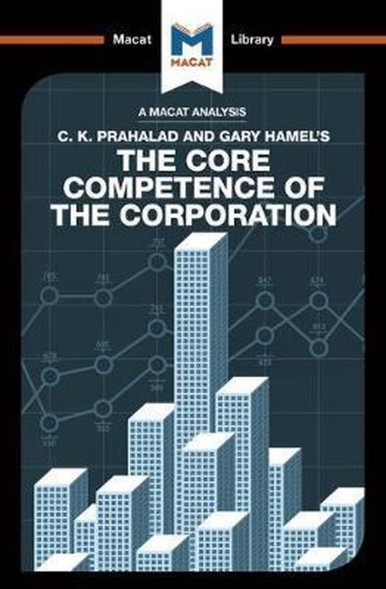 Boek cover An Analysis of C.K. Prahalad and Gary Hamels The Core Competence of the Corporation van The Macat Team (Paperback)