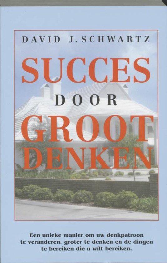 Succes door groot denken - David J. Schwartz |