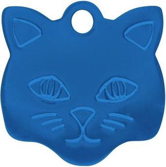 Kitty Kattenpenning Blauw