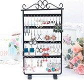Oorbellenrekje / Sieradenrekje - Juwelen Sieraden / Oorbellen / Ketting Organizer Display Houder - Zwart
