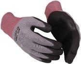 GUIDE werkhandschoenen 580, grijze nylon / nitril, mt-10