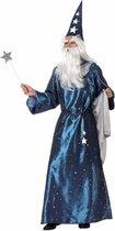 Tovenaars kostuum blauw 50 (m)