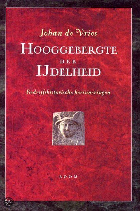 Hooggebergte Der Ijdelheid - Johan de Vries | Fthsonline.com