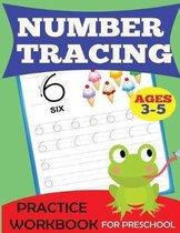 Number Tracing Practice Workbook