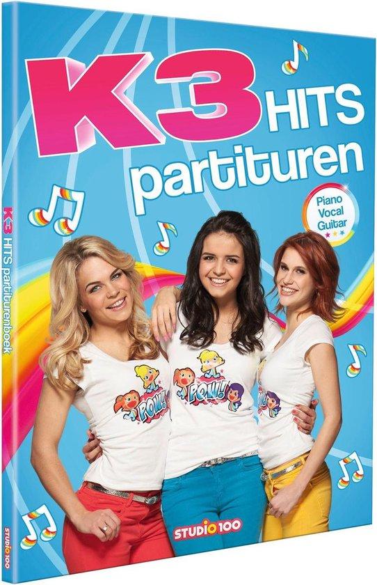 Boek cover K3 Hits partituren van Gert Verhulst (Hardcover)