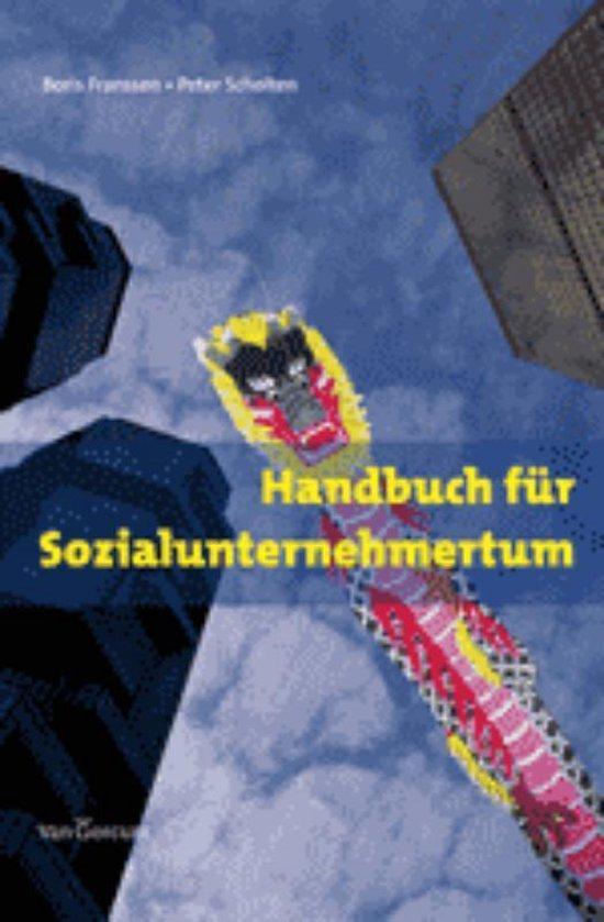Handbuch für Sozialunternehmertum - Boris Franssen pdf epub