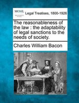 The Reasonableness of the Law