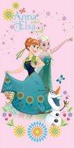 Disney Frozen Sweet Pink - Strandlaken - 70 x 140 cm - Roze